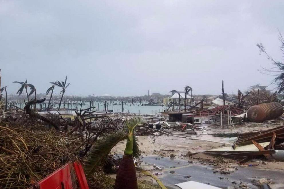 bahamas aftermath of dorian