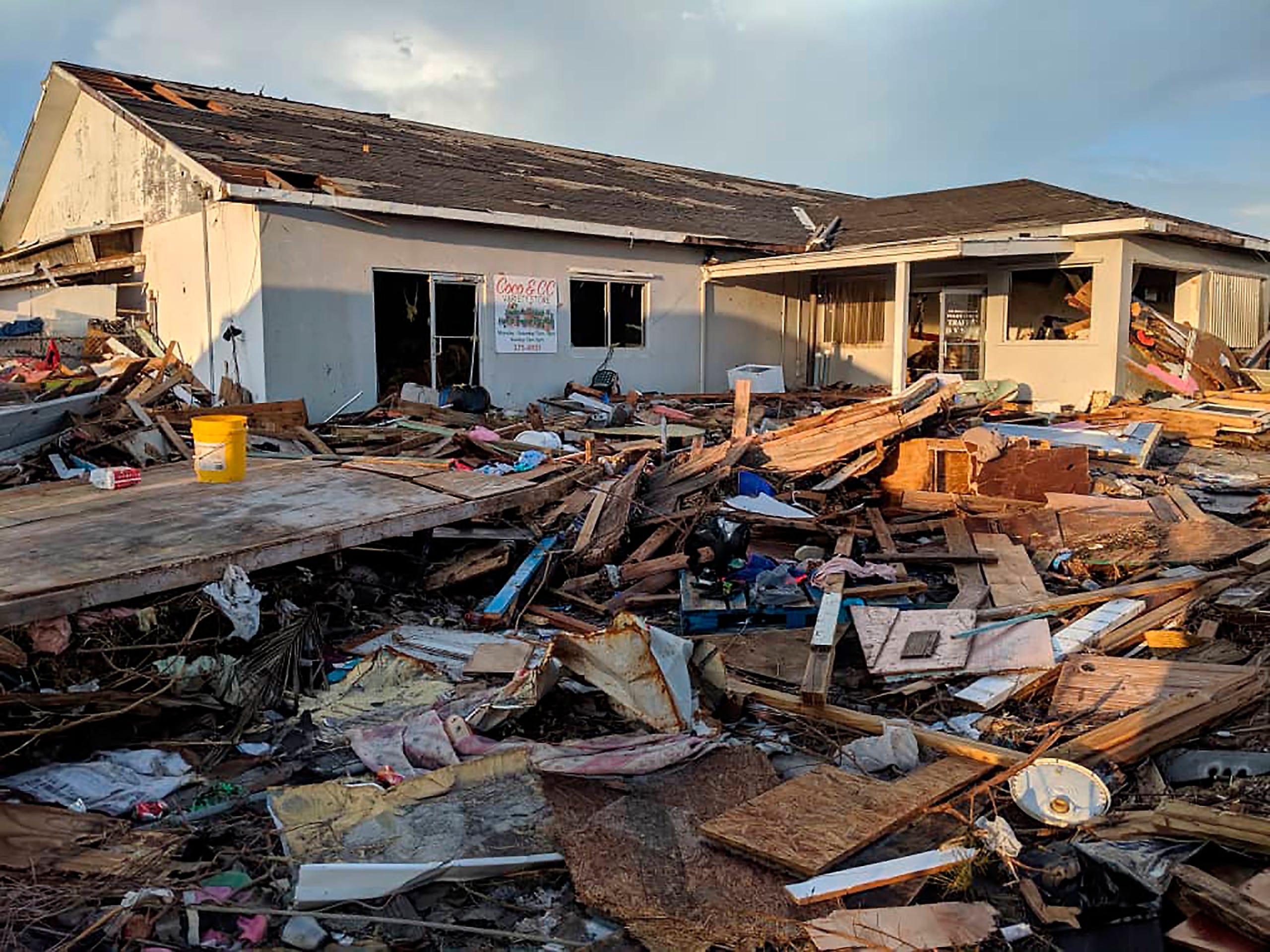 Bahamas Hurricane Dorian aftermath