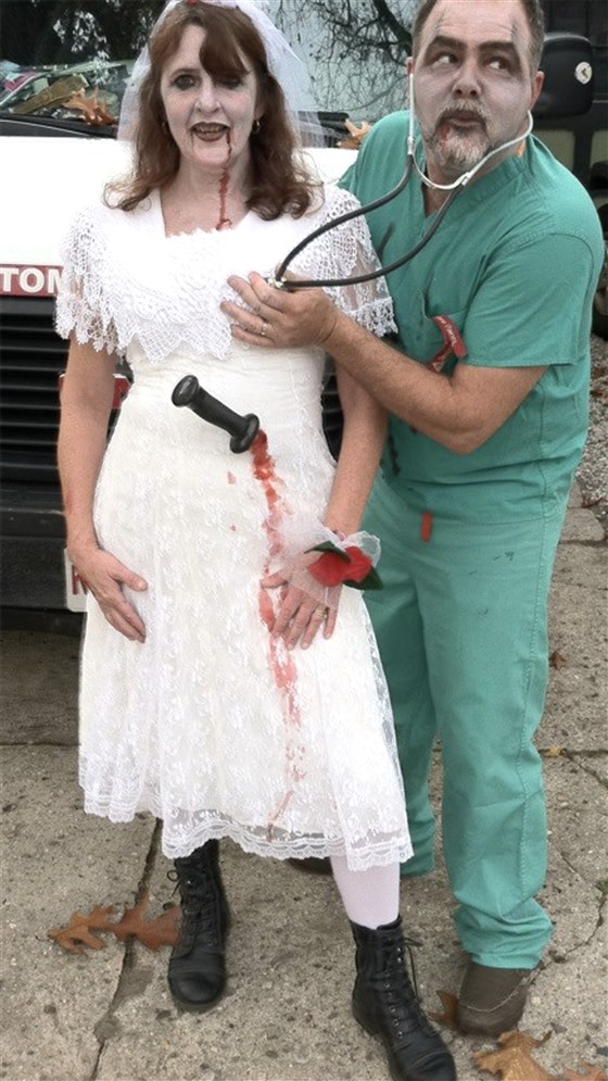 brides repurpose their wedding gowns