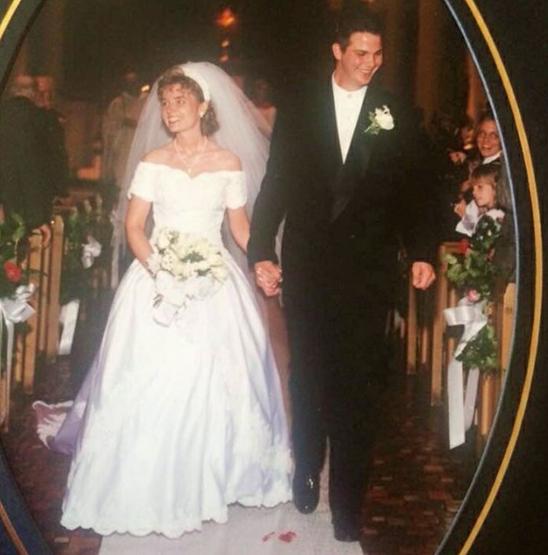 brides repurpose wedding gowns
