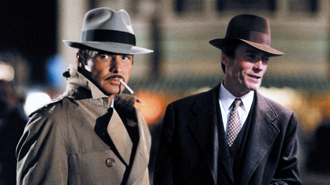 Burt Reynolds, Clint Eastwood in City Heat