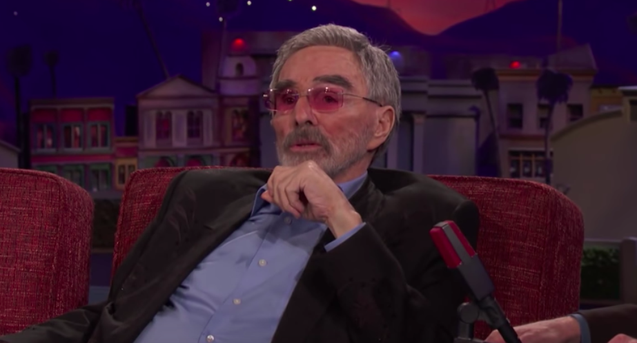 burt reynolds on being told he can't act
