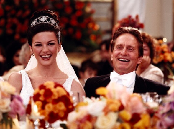 catherine zeta-jones posts birthday pic with Kirk Douglas