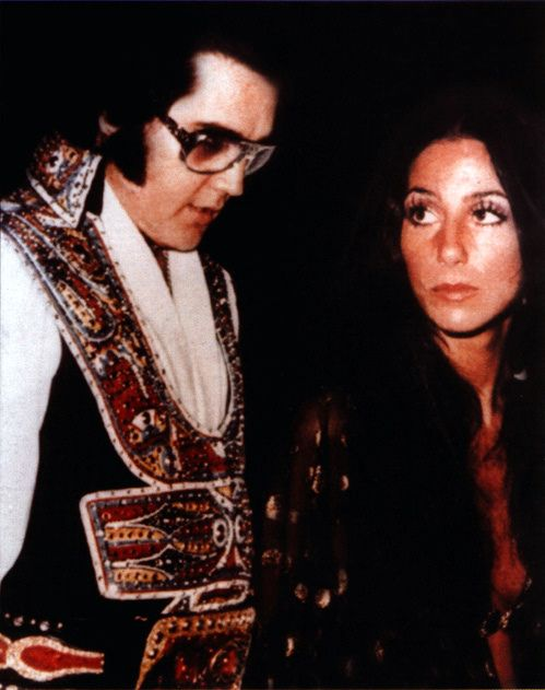 """Cher Reveals She Was """"Too Nervous"""" To Date Elvis Presley"""