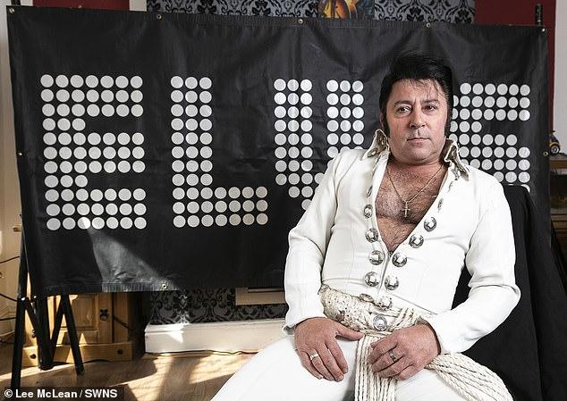 Dean Holland, Elvis impersonator