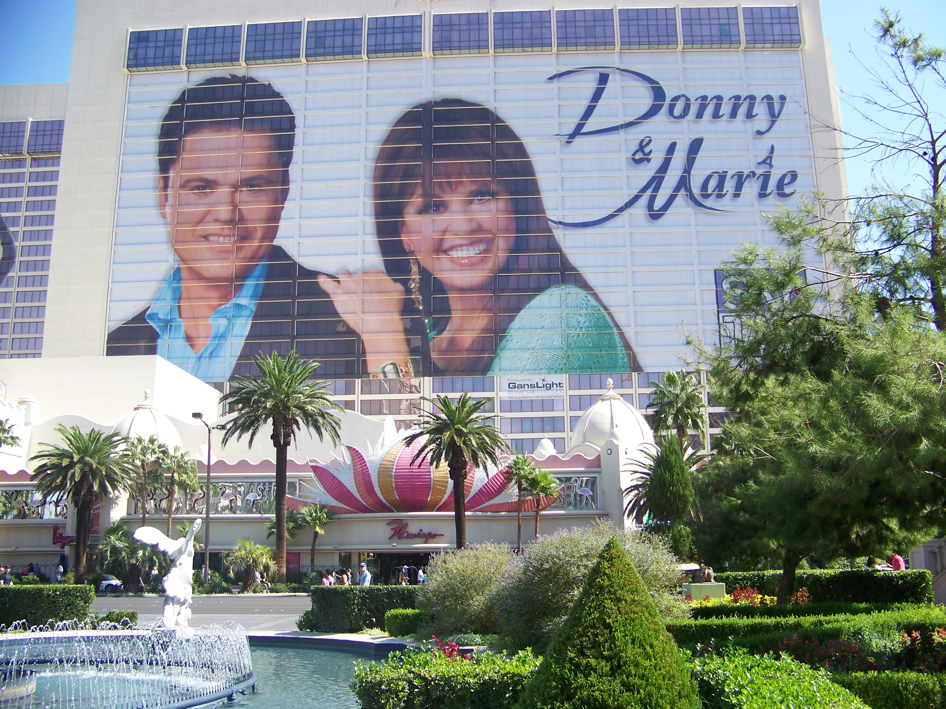 donny and marie flamingo hotel