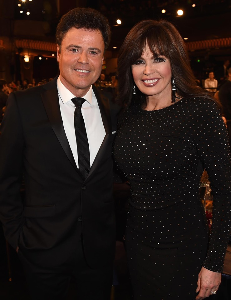 donny marie osmond siblings