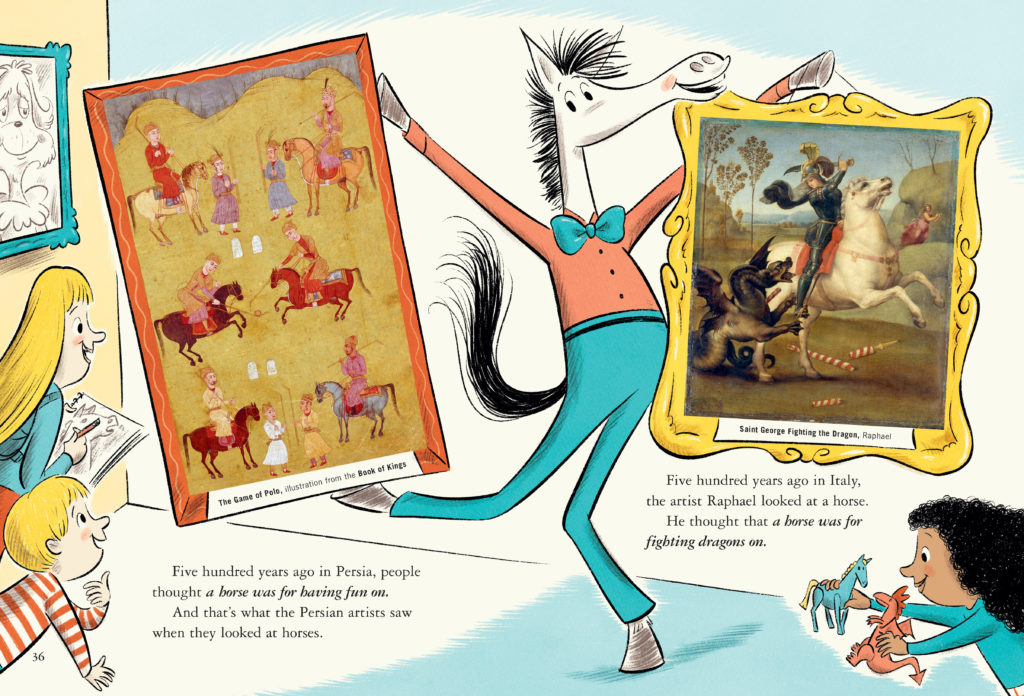 Dr. Seuss's Horse Museum excerpt