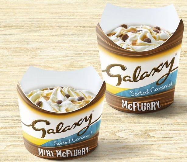 galaxy salted caramel mcflurry