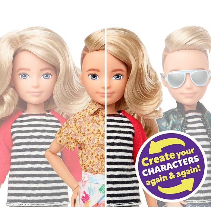 barbie company releasing gender neutral dolls