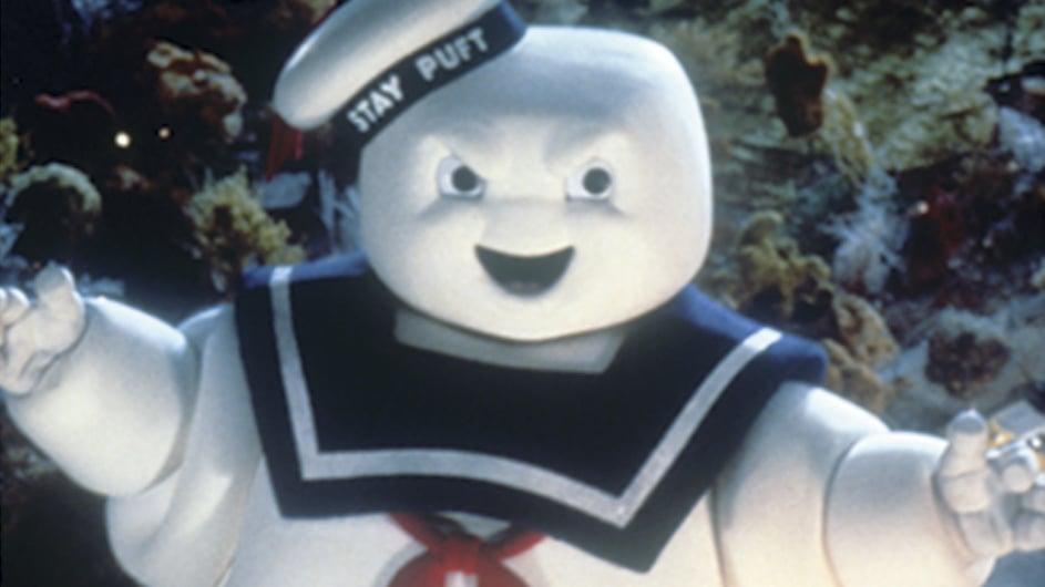 Stay Puft Marshmallow Creature Head