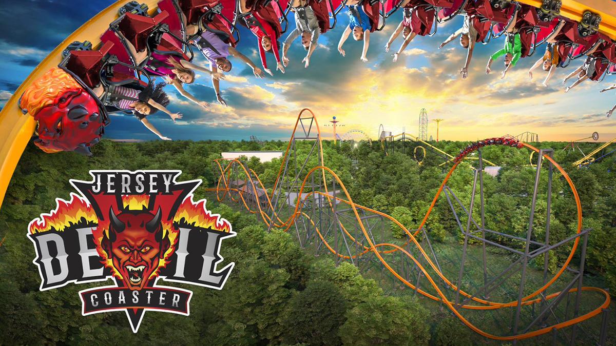Jersey Devil Coaster six flags