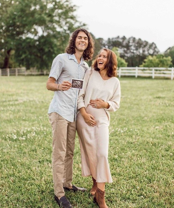 john luke robertson and wife expecting