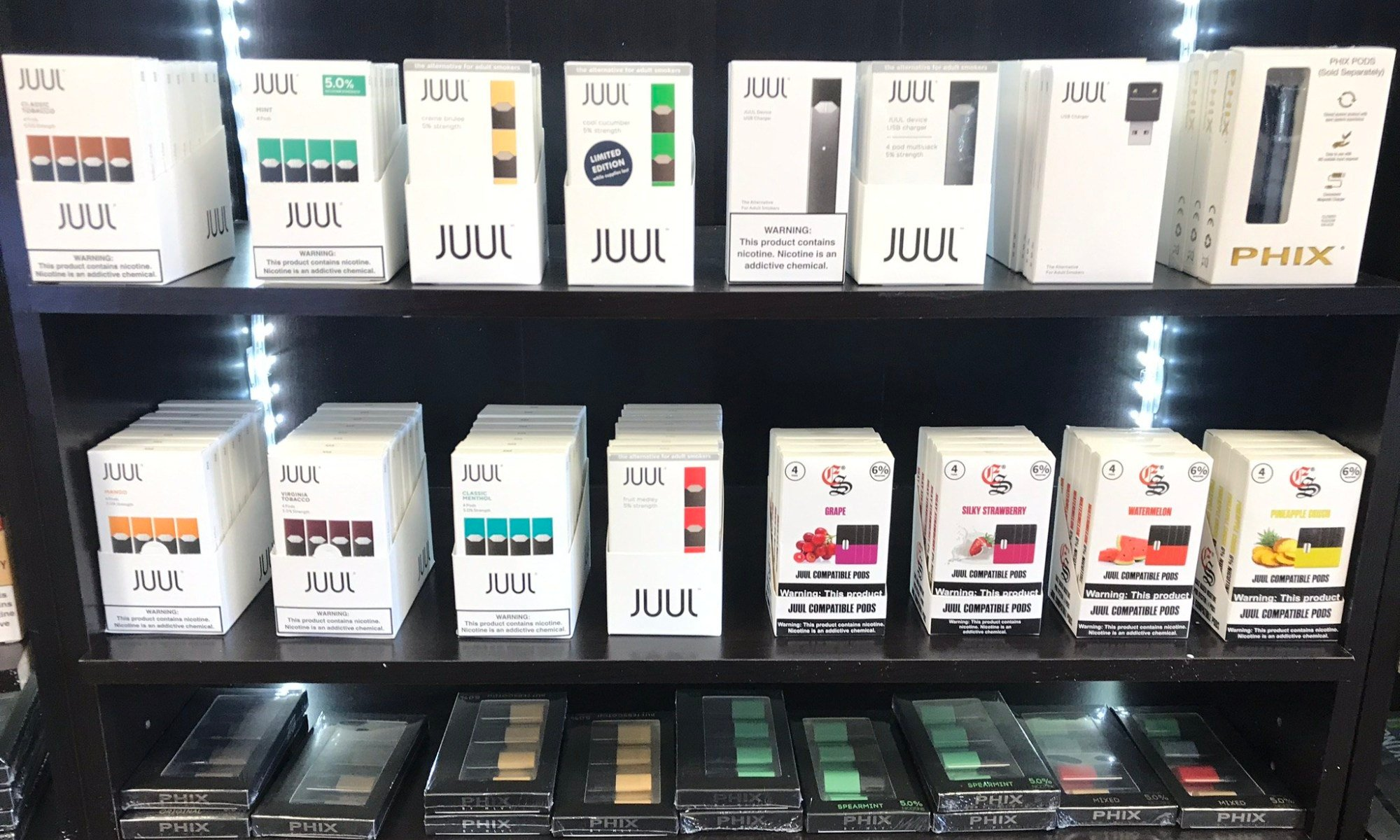 new york bans flavored vape products