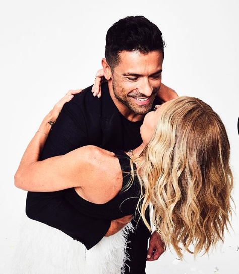 Kelly Ripa's Husband Mark Consuelos Shows Off Major PDA on His Wife's Pantless Instagram