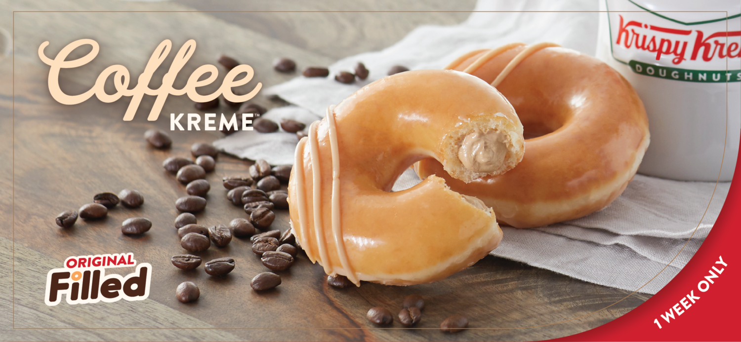 Krispy Kreme Is Selling Donuts With Coffee Cream
