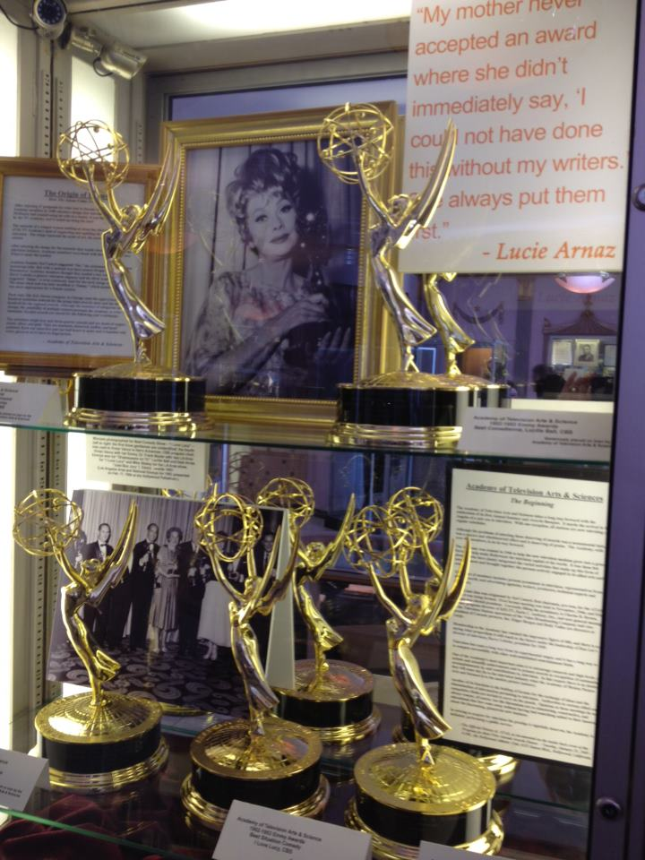 lucille ball emmys hollywood museum
