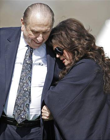 marie osmond after sons funeral