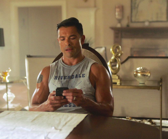 Mark Consuelos Shows Off Major PDA on His Wife's Pantless Instagram