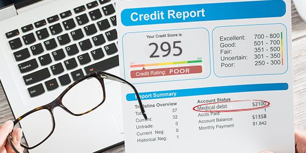 Medical debt on credit report