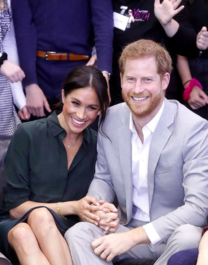 queen's guests told not to talk about meghan markle prince harry