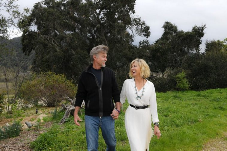Olivia Newton-John and husband, John Easterling