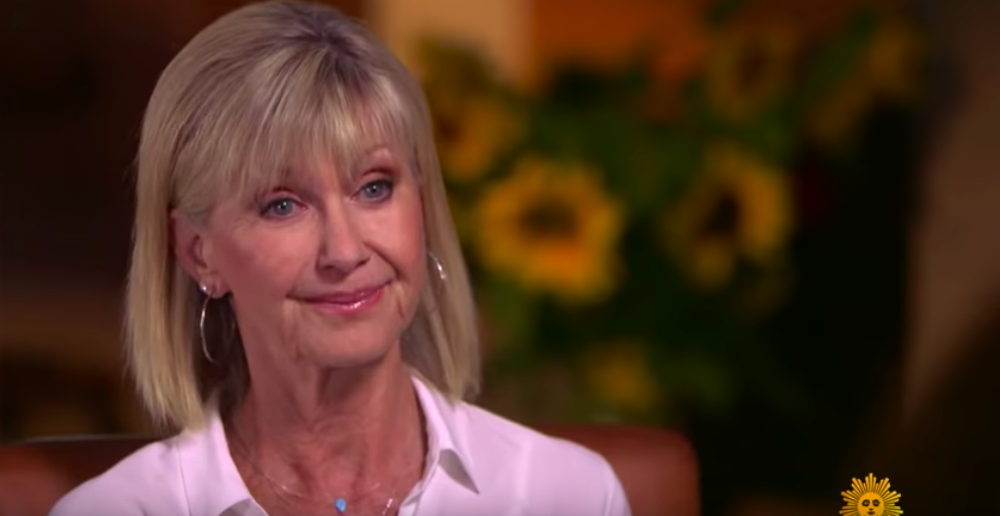 olivia newton-john talks about cancer diagnosis