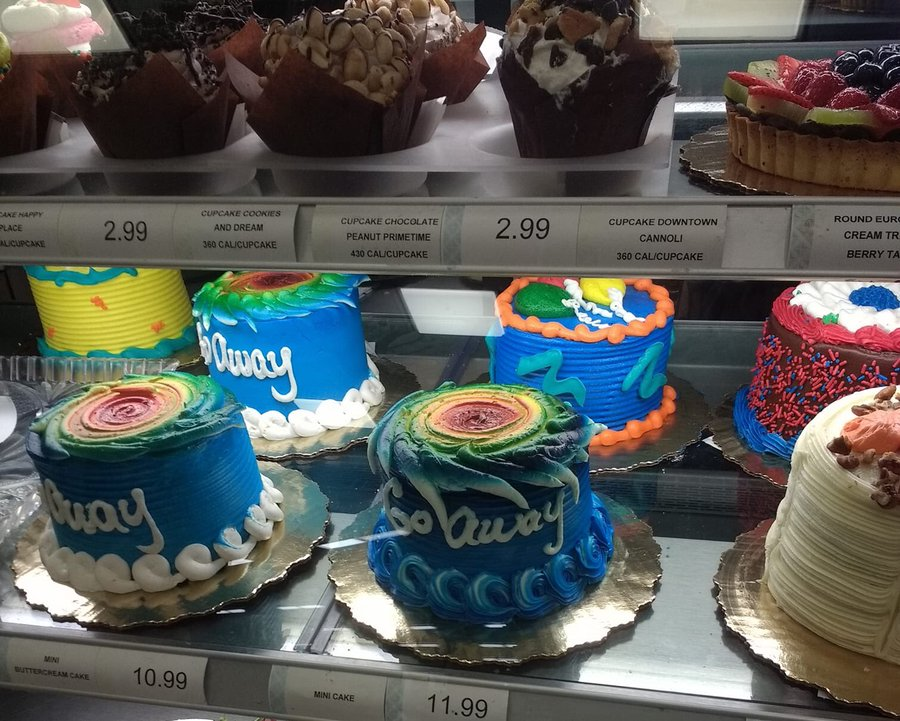 Prime Controversy Arises Over Hurricane Themed Cakes At Publix Funny Birthday Cards Online Fluifree Goldxyz