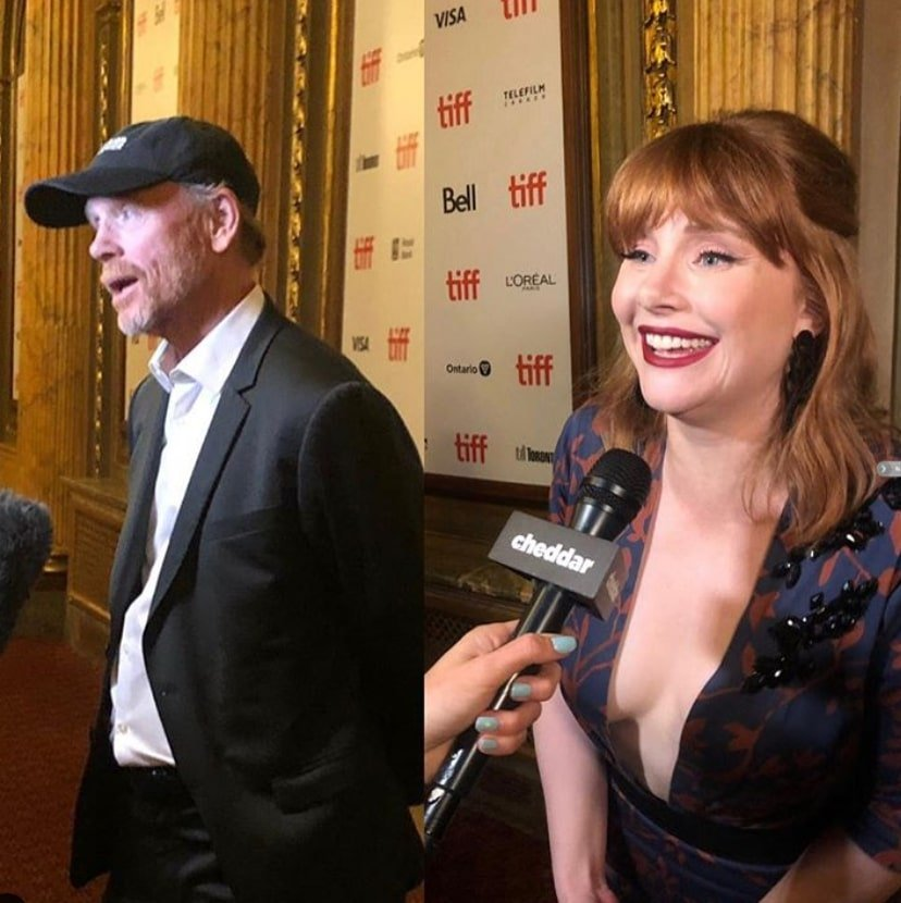 ron howard bryce dallas howard interviews