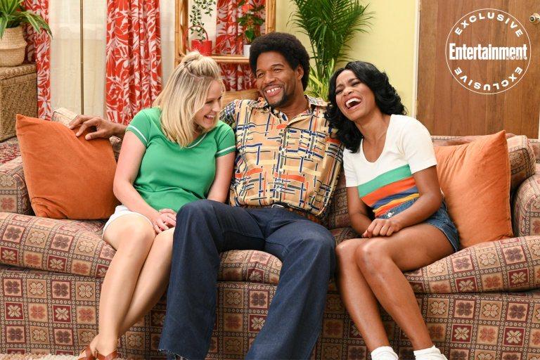 Strahan, Sara, and Keke three's company