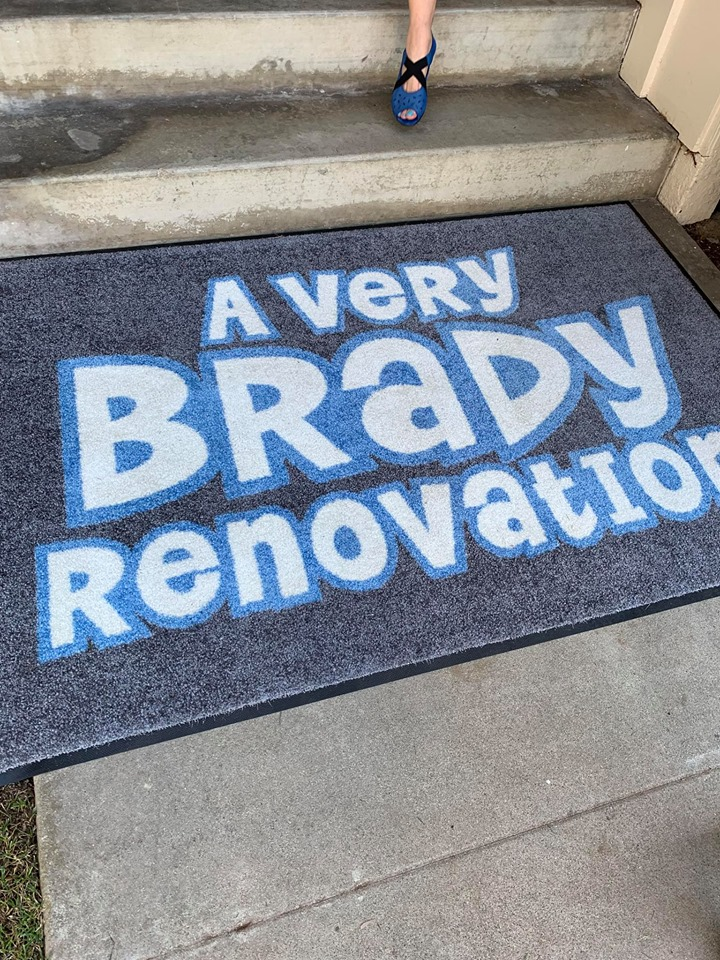 a very brady renovation mat