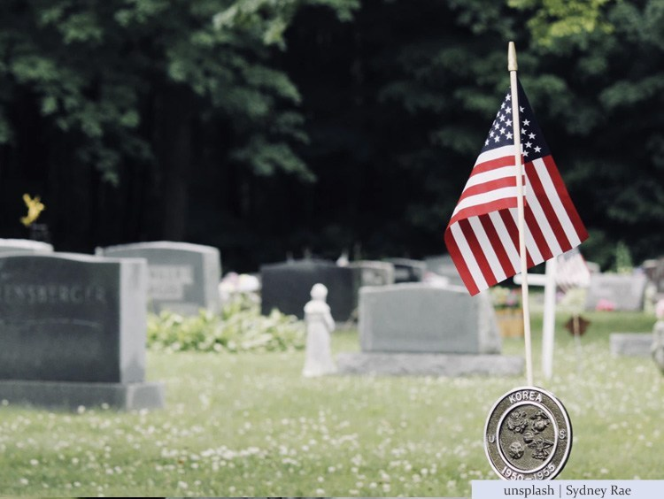 War veteran's grave
