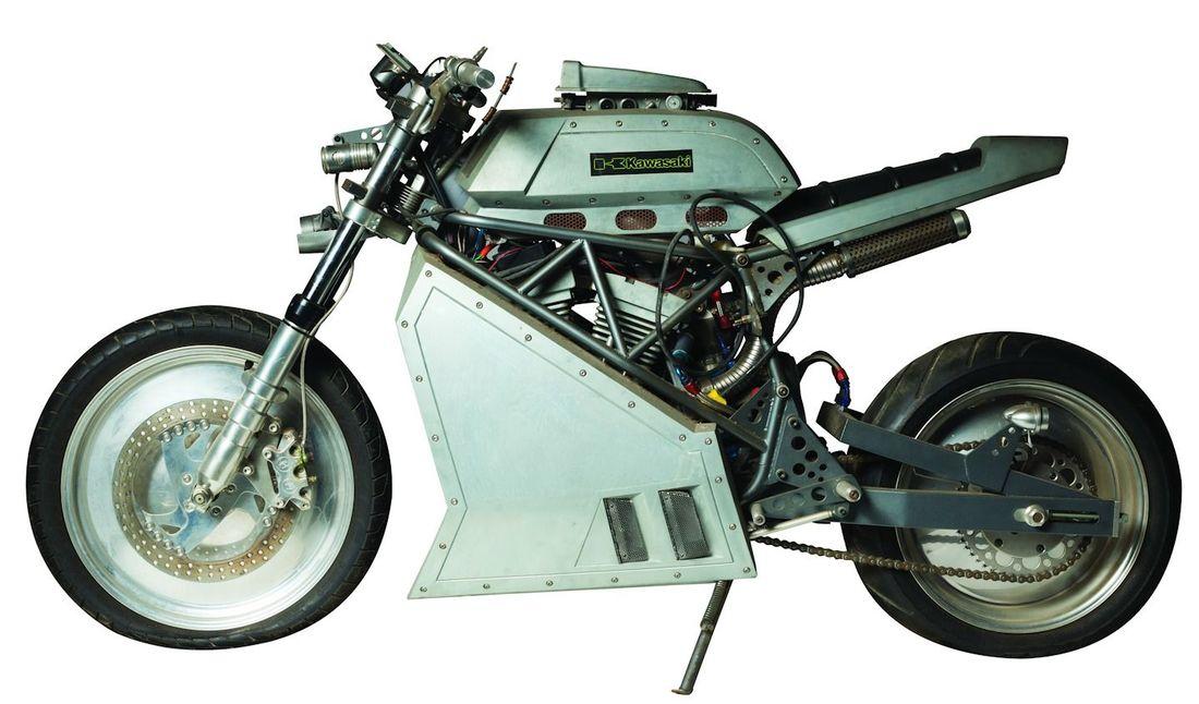"""Wesley Snipes """"Blade"""" hero motorcycle"""