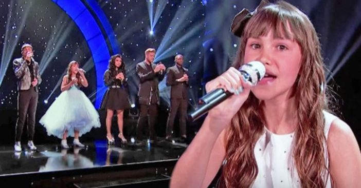 11-Year-Old Girl With Autism Performs _Hallelujah_ With Pentatonix On 'Little Big Shots'