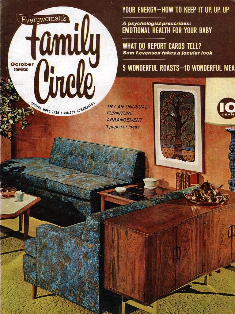 nostalgic family circle magazine 1962