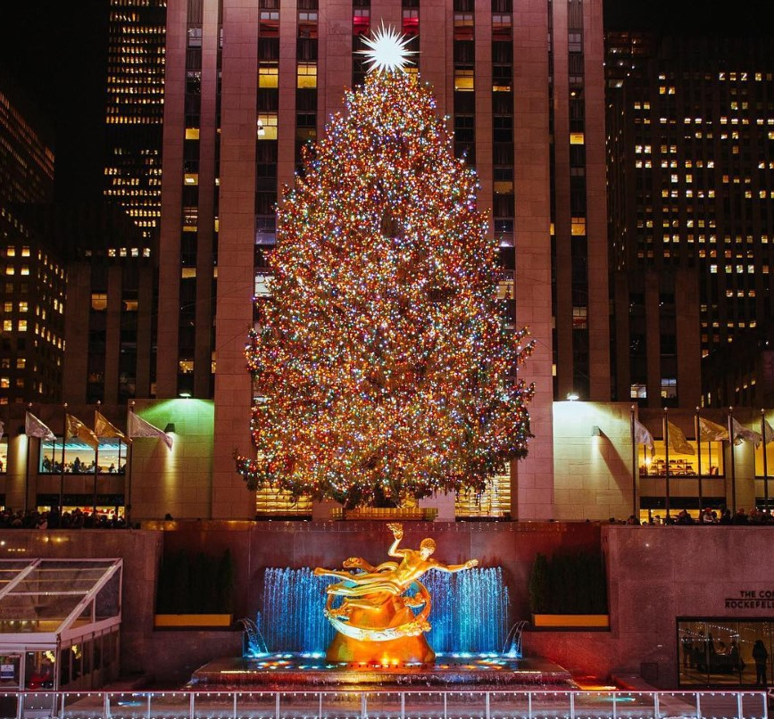 rockefeller center christmas tree 2018