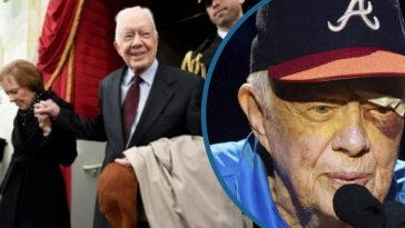 95-Year-Old Jimmy Carter Hospitalized After Taking Another Fall At His Georgia Home