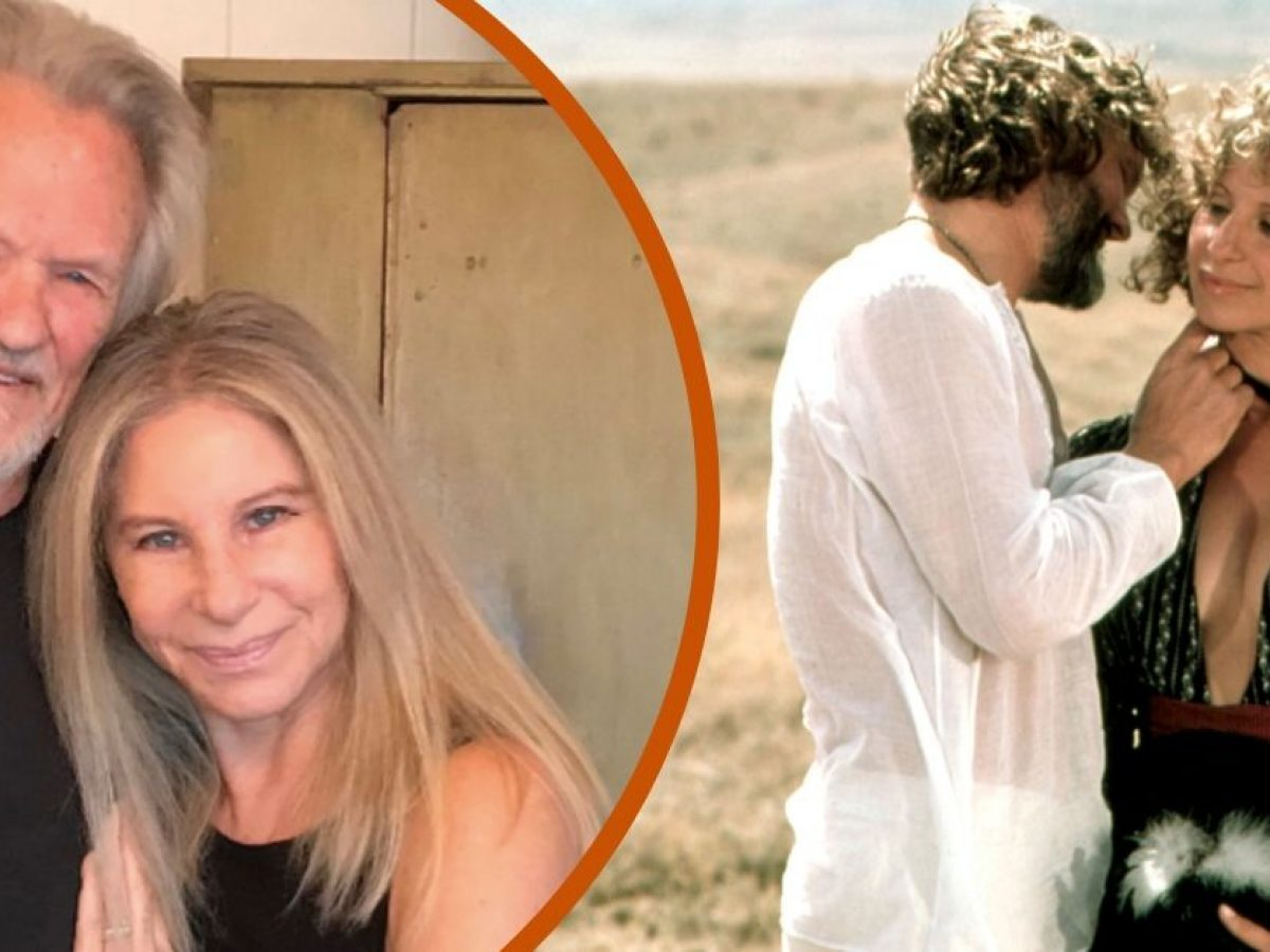 A Star Is Born Co Stars Kris Kristofferson Barbra Streisand Reunite
