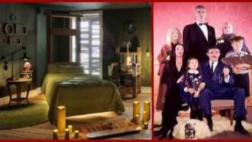 Stay in the Addams Family house!