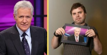 Alex Trebek Arranges Special Phone Call With Autistic Man And His Mother, A Lung Disease Survivor