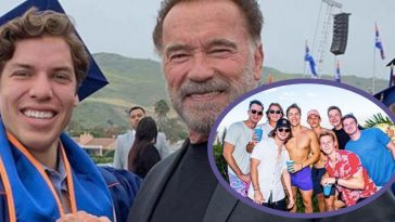 Arnold Schwarzenegger's Son, Joseph Baena, Celebrates 22nd Birthday While Showing Off His Muscles