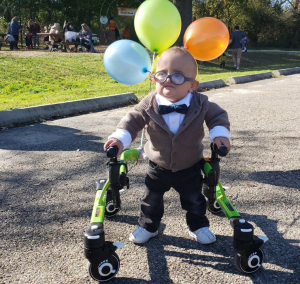 Brantley Morse in his Up costume