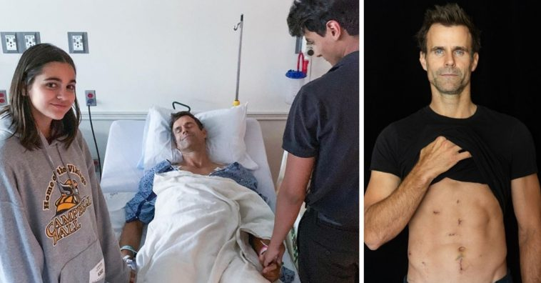 Cameron Mathison reveals that he is now cancer free after surgery