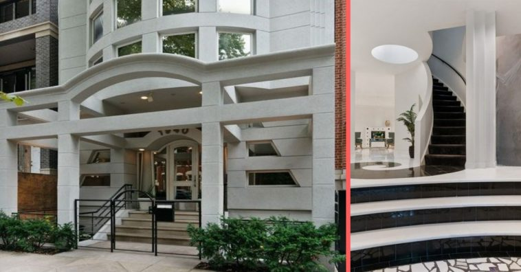 Check out photos of this 80s style house in Chicago