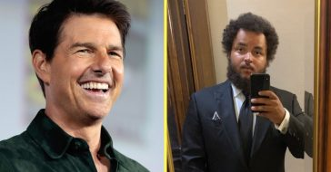 Connor Cruise makes a rare appearance with his dad Tom Cruise in public
