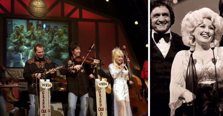 Dolly Parton shares memories from performing at the Grand Ole Opry
