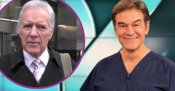 Dr. Oz Gives Big Update On _Golden-Hearted Friend_ Alex Trebek's Cancer Battle