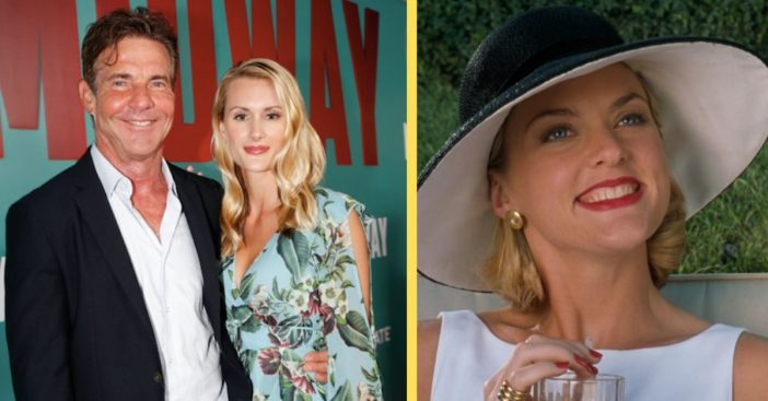 Elaine Hendrix Gives Perfect Response To 'The Parent Trap' Co-Star Dennis Quaid's Engagement