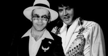 Elton John Says His _Disappointing_ Meeting With Elvis Presley Was A Wake-Up Call