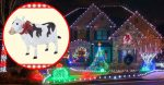 Home Depot's New Light-Up Yard Cow Is Every Country Christmas Dream Come True
